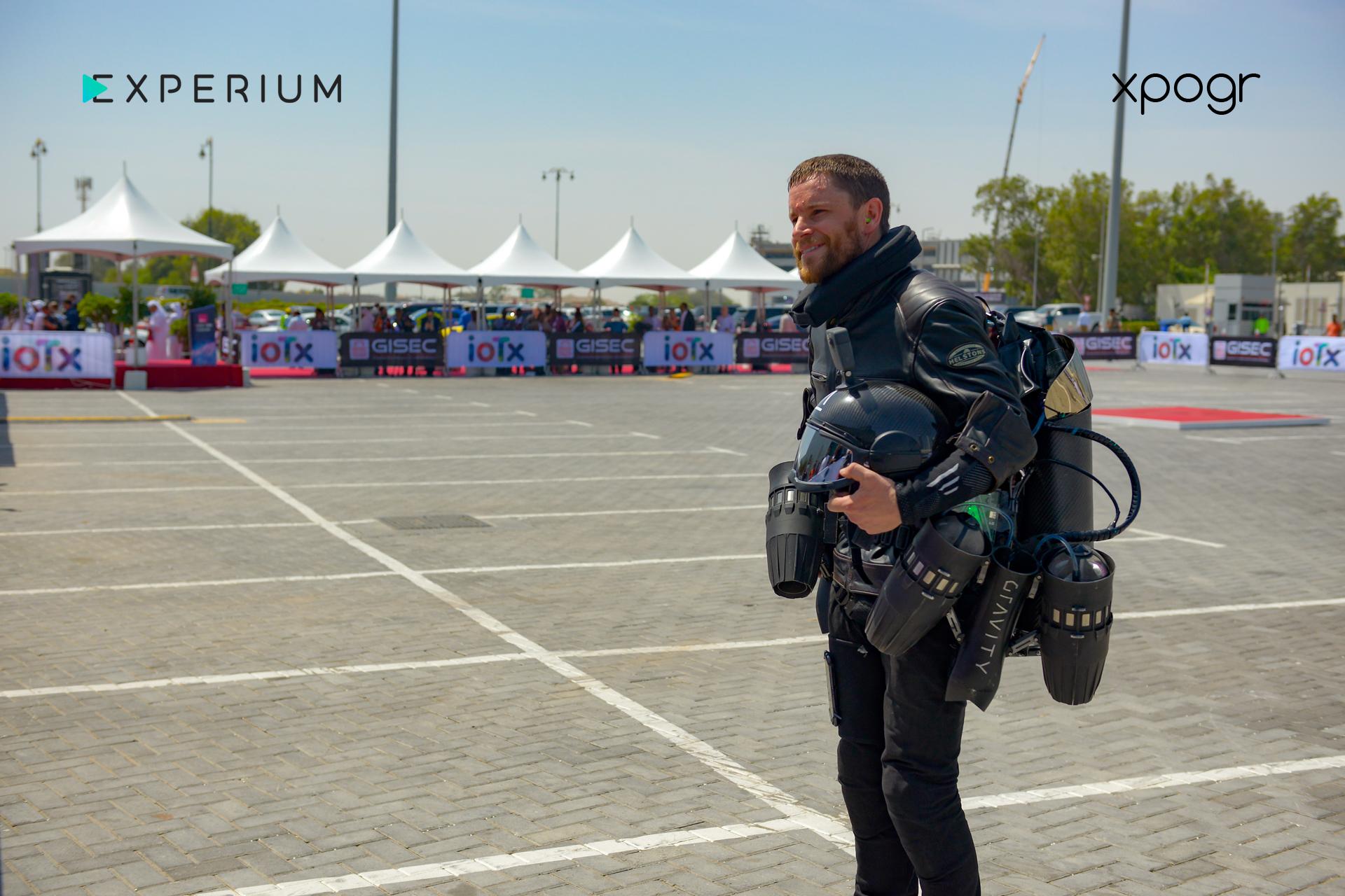 Real-life Iron Man takes flight in Dubai with xpogr